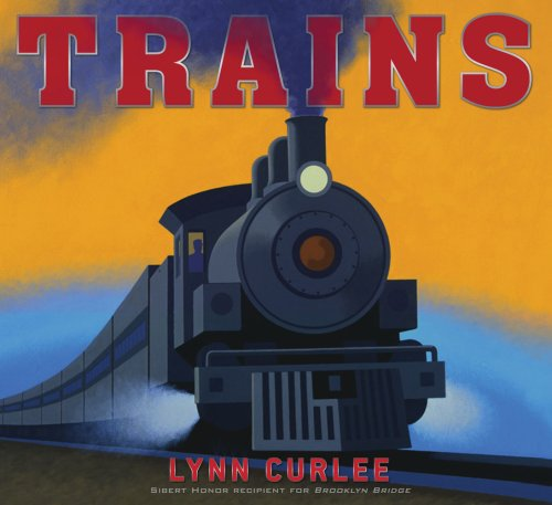 Trains by Curlee